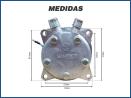 Compressores COMPRESSOR SANDEN SD5H14 (508) 5306 R-134A Imagem Miniatura 5